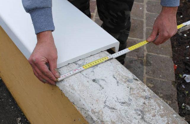 Coprimuro posa in opera linea marmoedile rimini - Copertine per muretti esterno in cemento prezzi ...